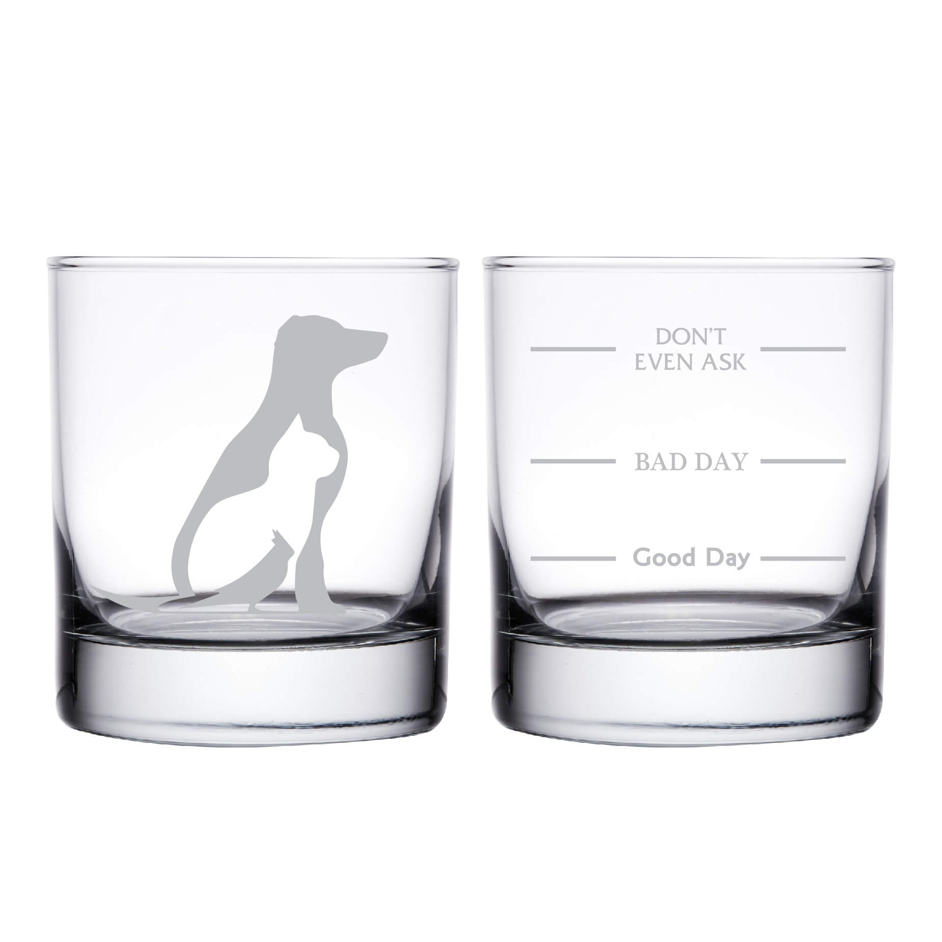 Veterinarian Personalized Whiskey Glass