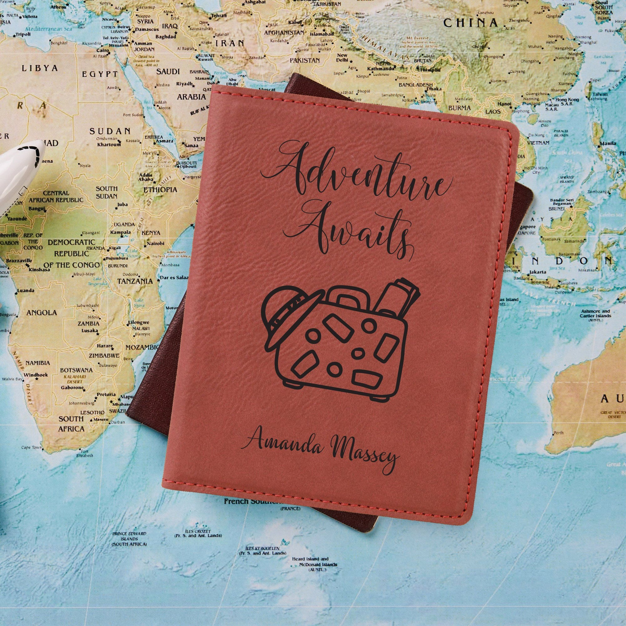 Adventure Awaits Passport Holder