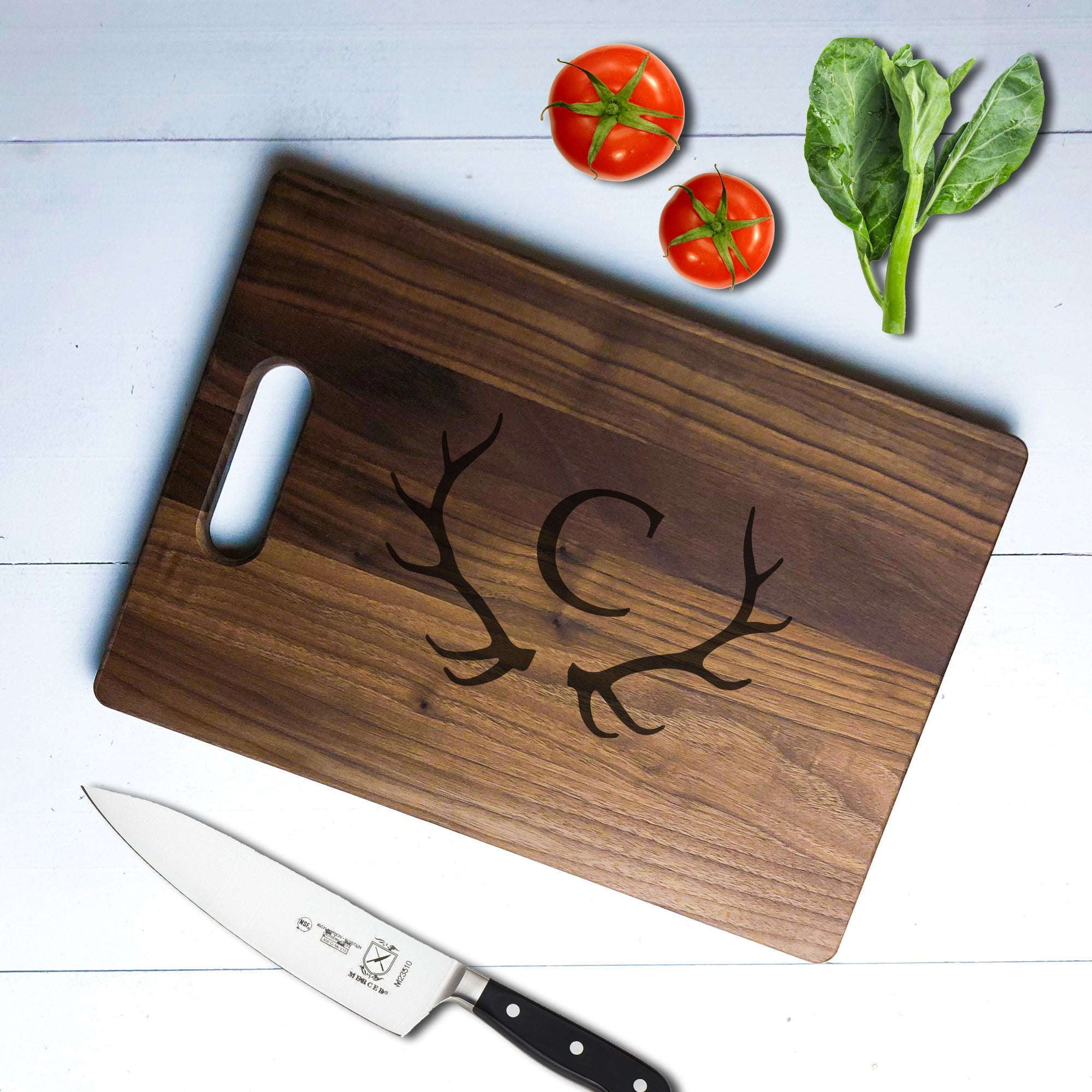 Personalized Antler Cutting Board