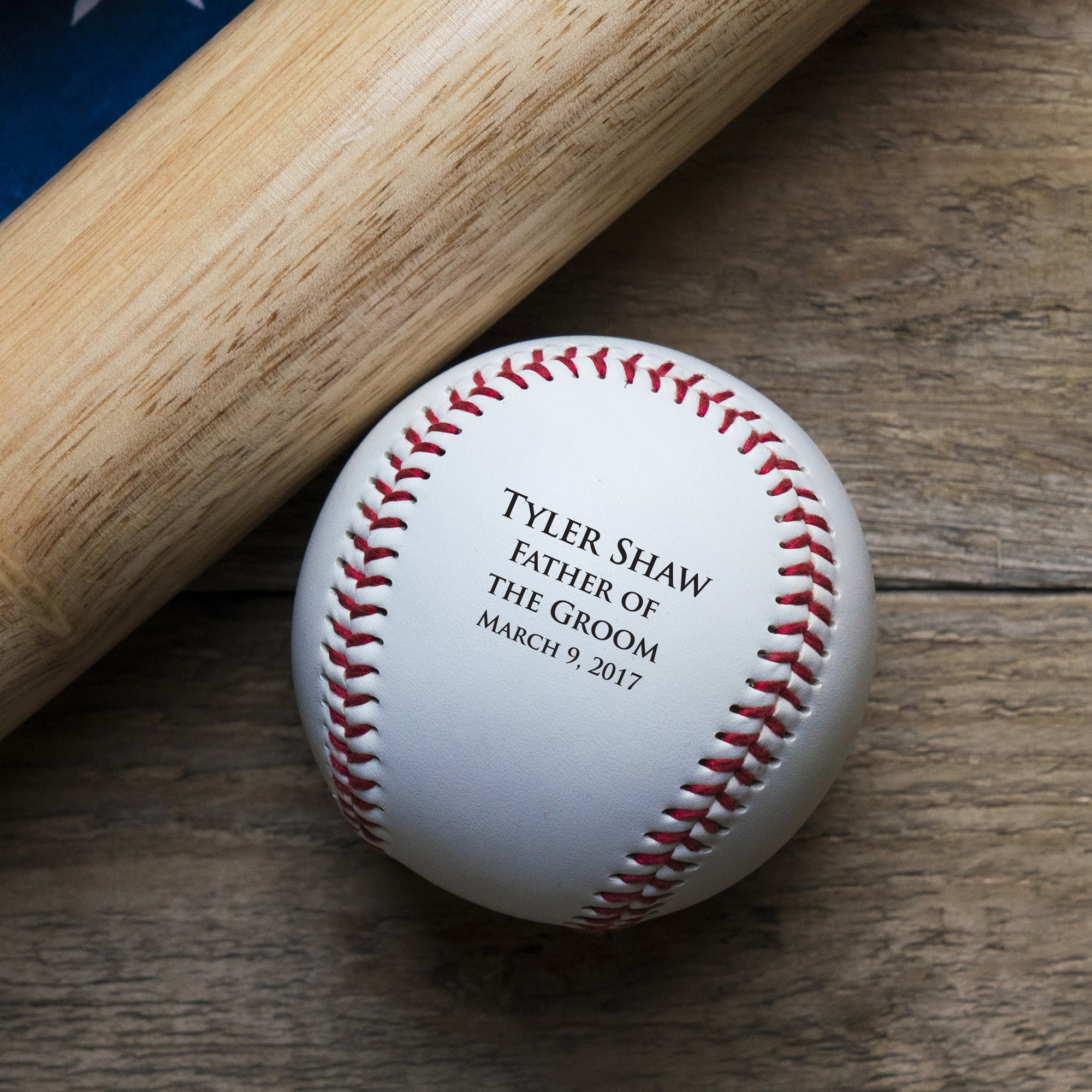 Personalized Wedding Baseball