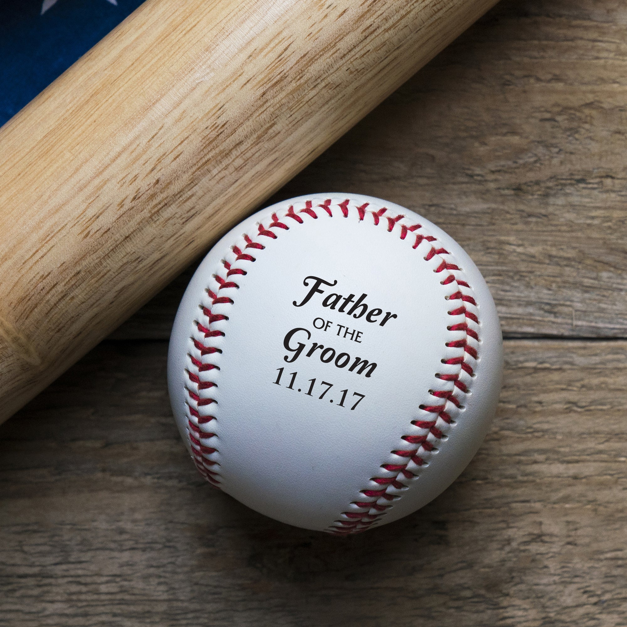 Father of the Groom Baseball