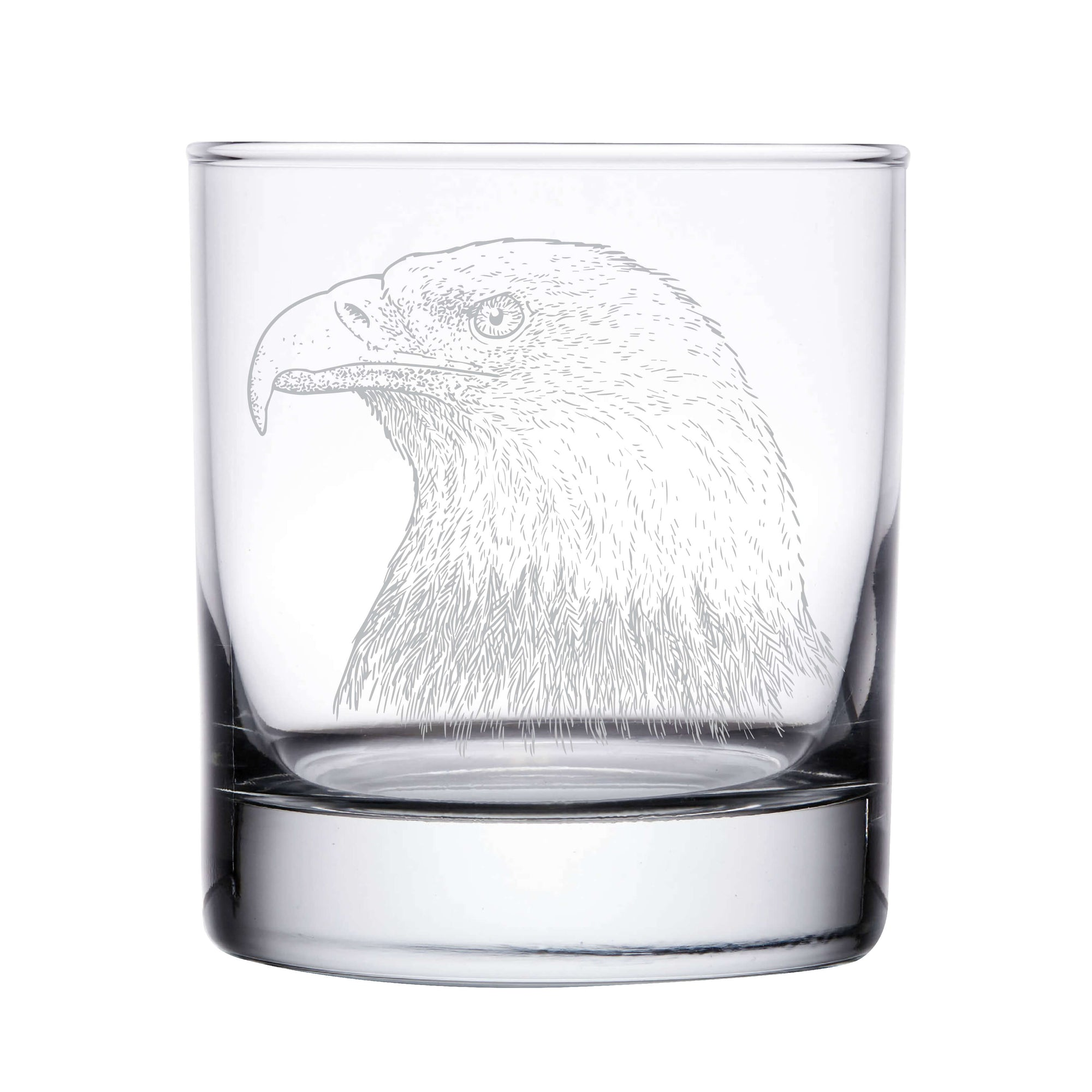 Bald Eagle Whiskey Glass