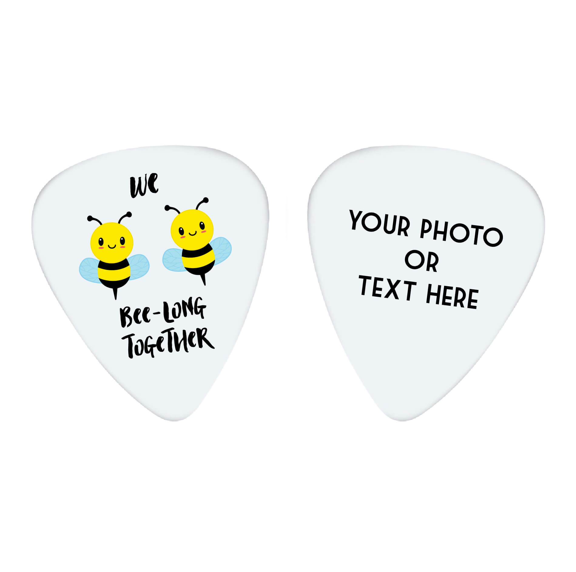 We Bee-Long Together Photo Guitar Pick
