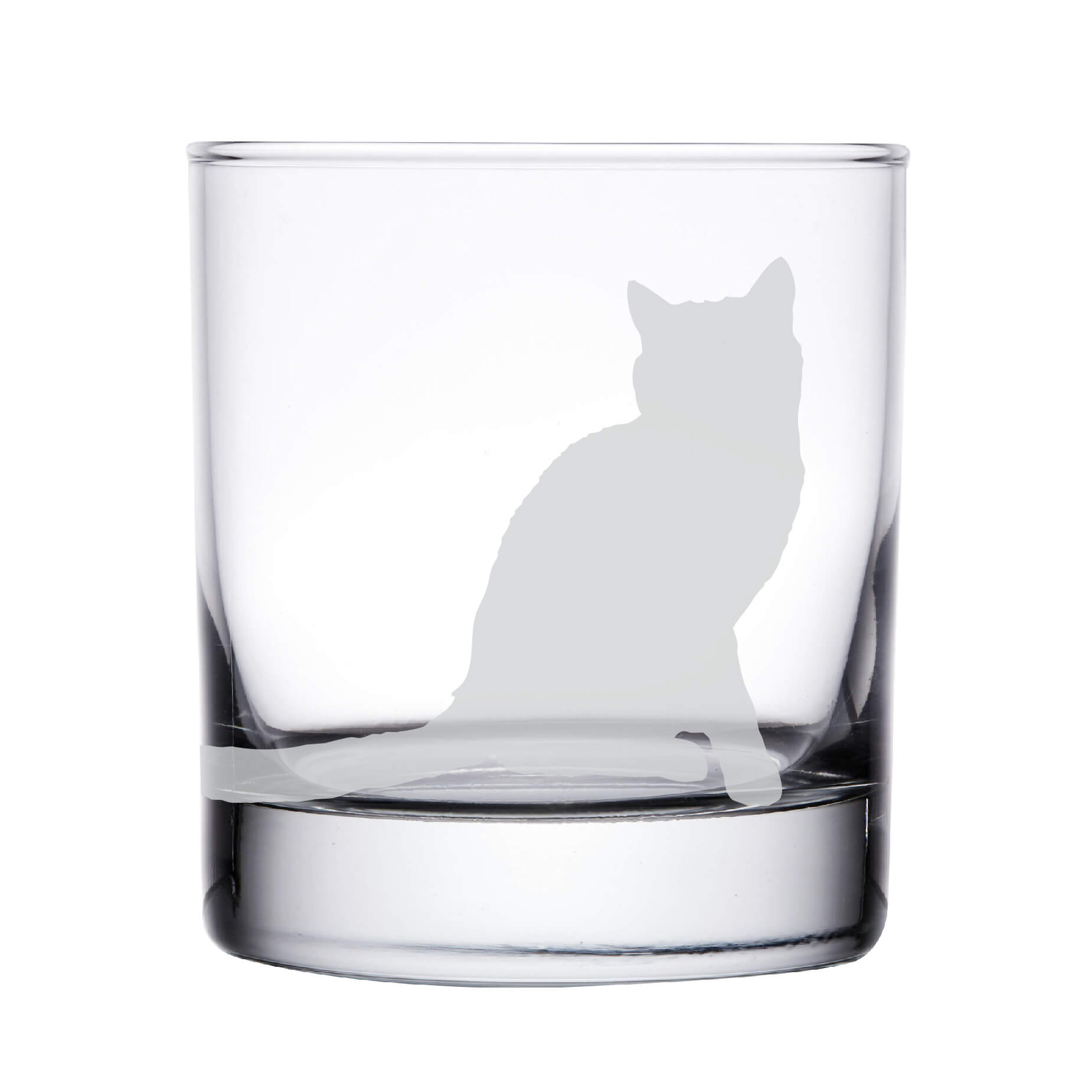 Cat Whiskey Glass