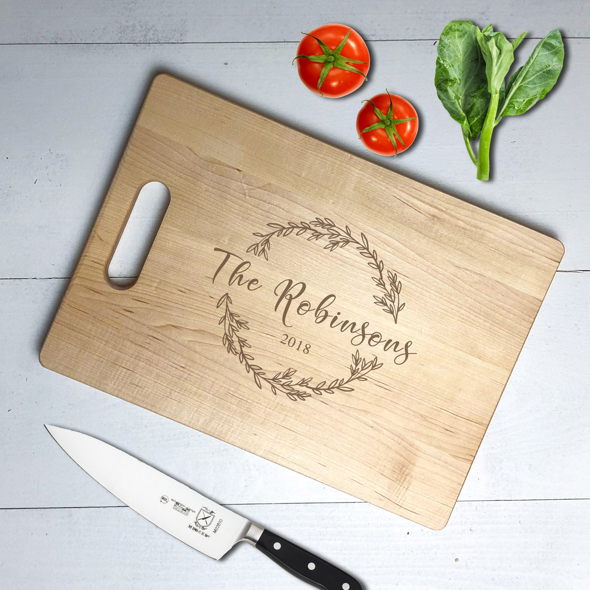 Personalized Reef Cutting Board