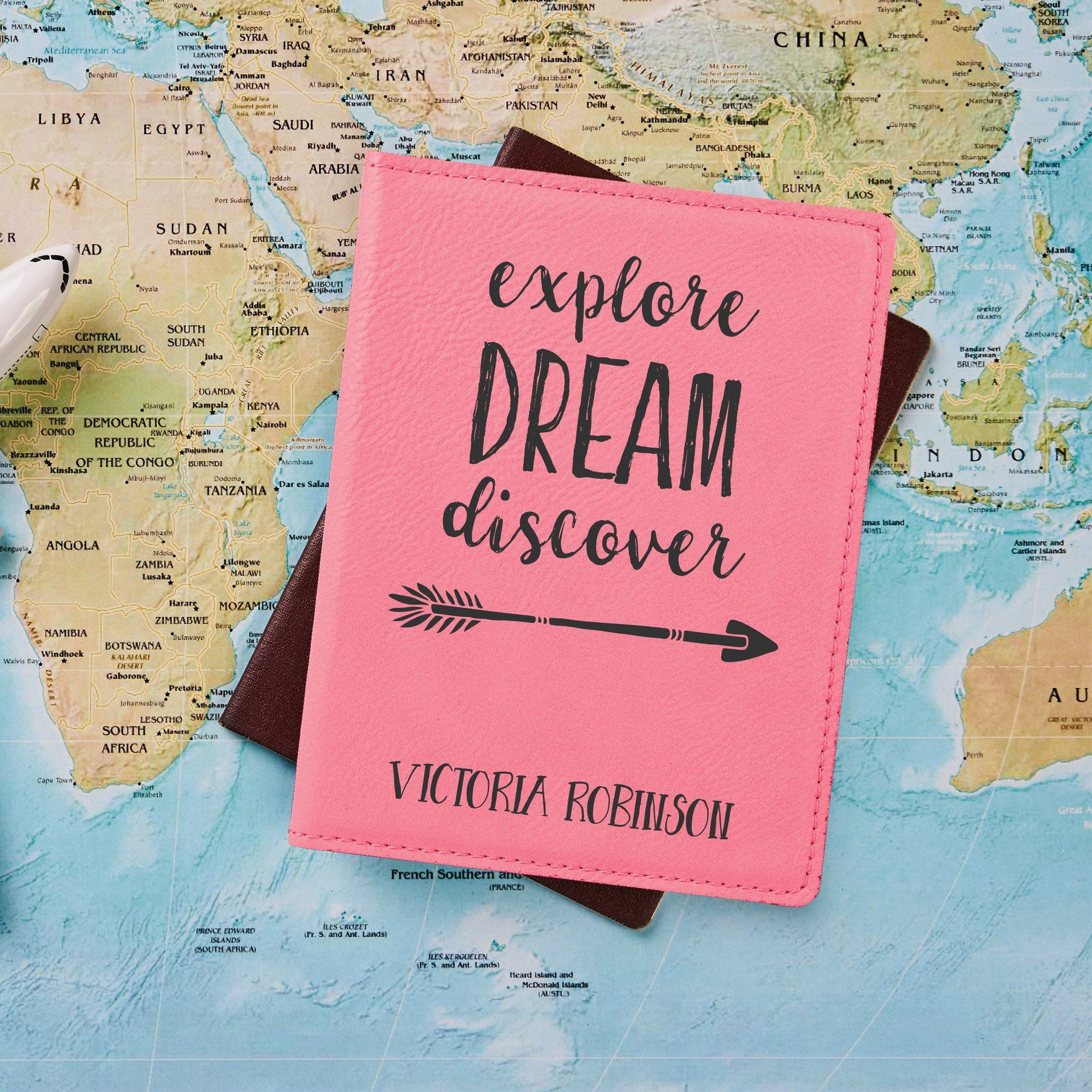 Explore Dream Discover Passport Holder