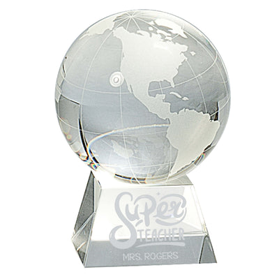 Super Teacher Crystal Globe