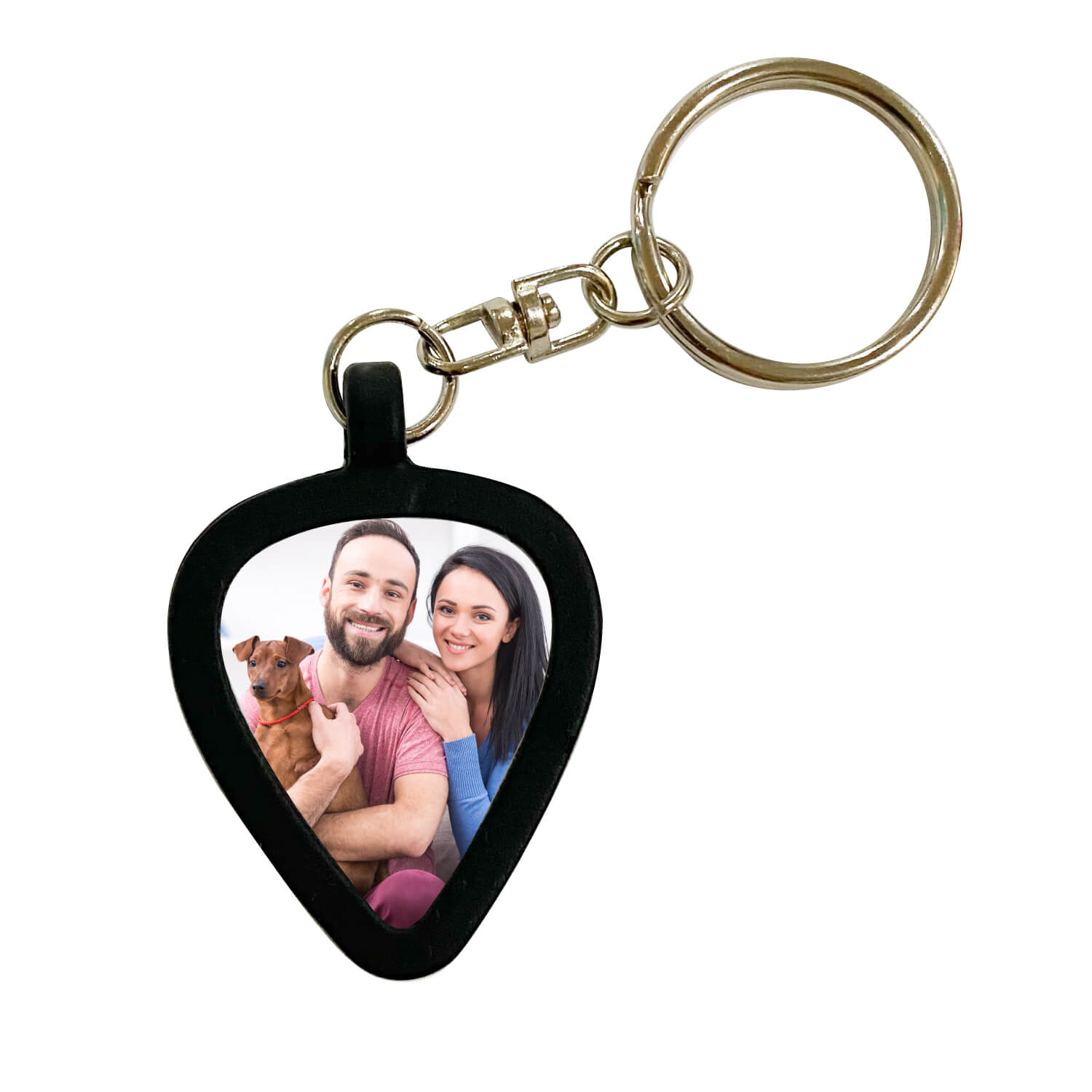 Keychain Guitar Pick Holder