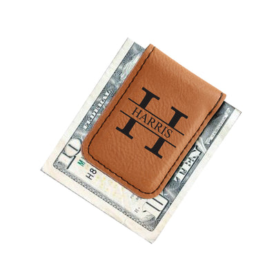 Monogrammed Money Clip