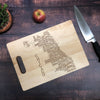 Chicago Illinois Cutting Board