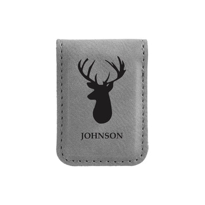Personalized Stag Money Clip