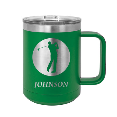 Golf Personalized Insulated Mug Tumbler