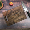 Family Established Personalized Antler Cutting Board