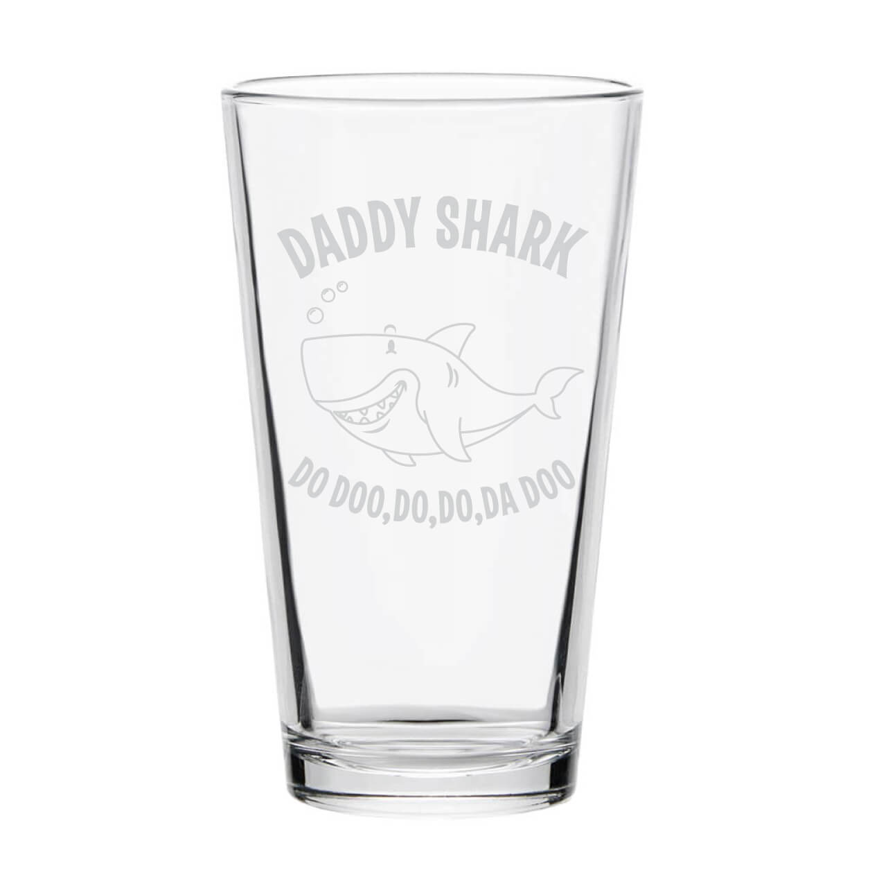Daddy Shark Pint Glass