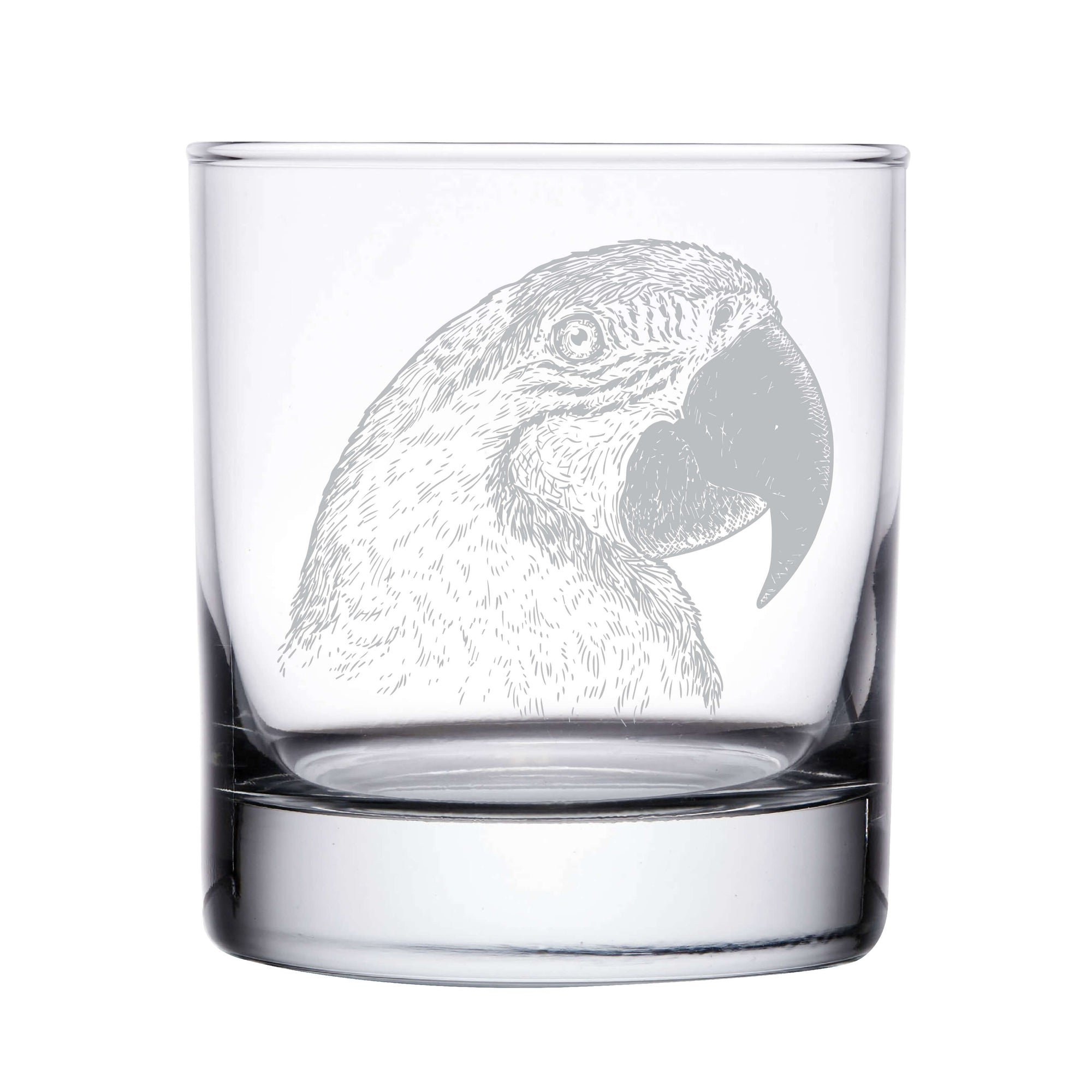 Parrot Whiskey Glass