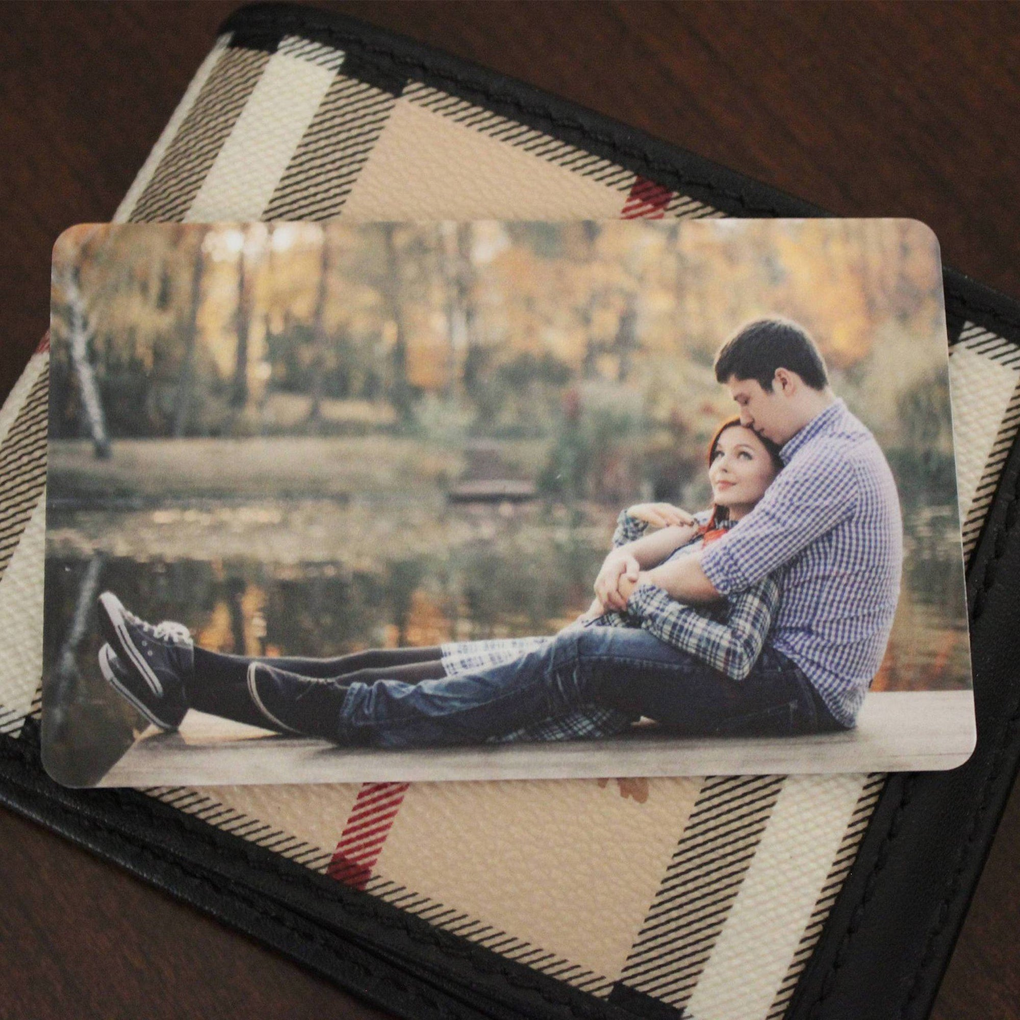 Personalized Wallet Card with Free Gift Box