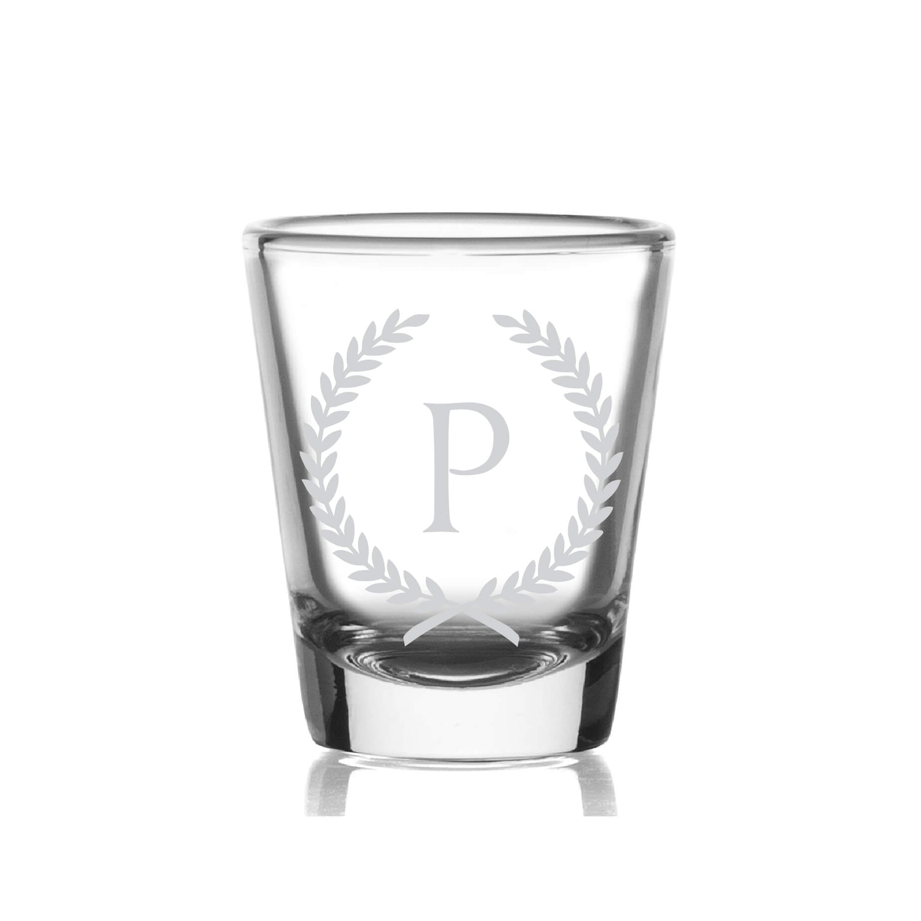 Monogrammed Shot Glass