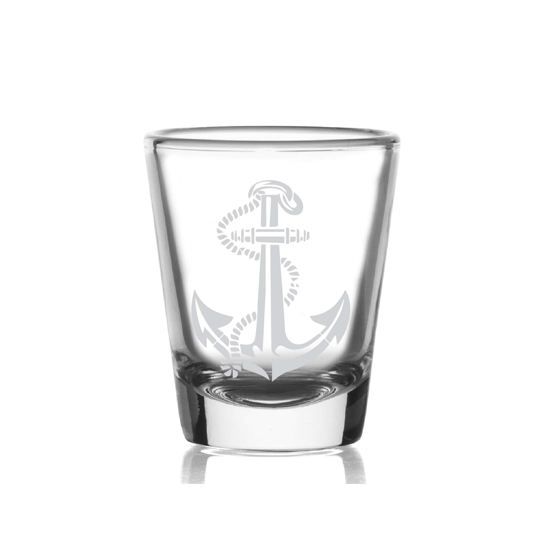 Anchor Nautical Shot Glass