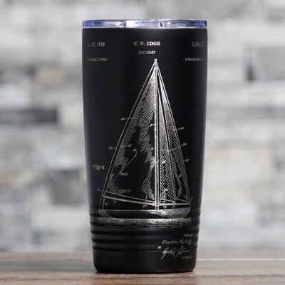 Sailboat Patent Tumbler