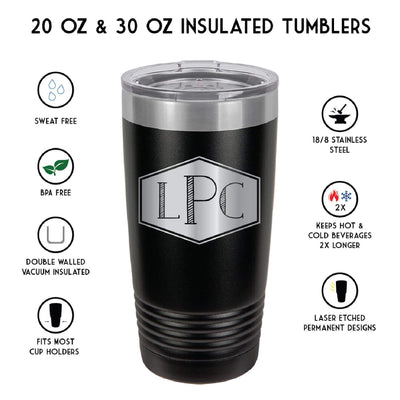 Kick Putt Personalized Golf Tumbler
