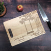 Couples Established Family Tree Cutting Board