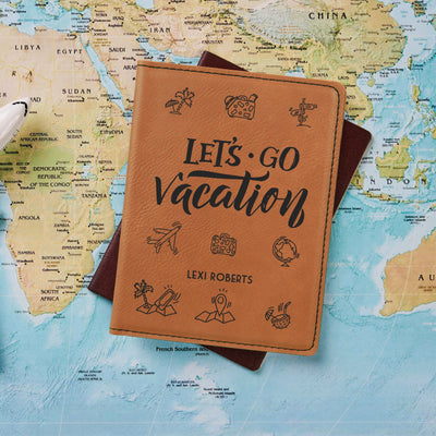 Let's Go Vacation Passport Holder