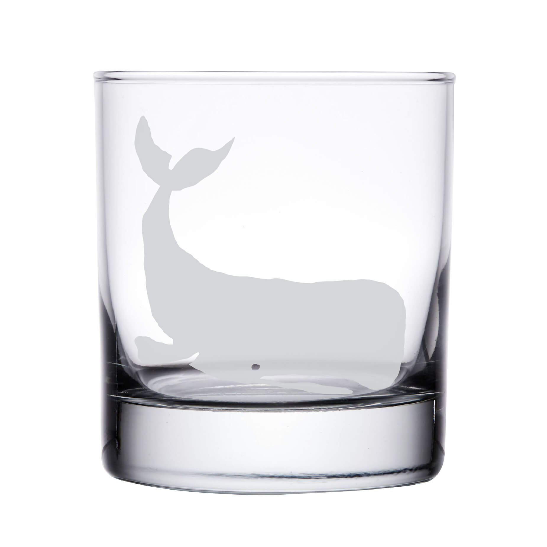 Whale Whiskey Glass