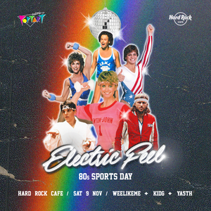 Electric Feel: 80s Sports Day
