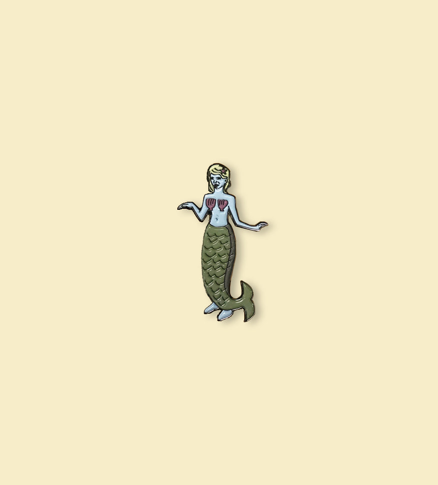 POPTART12: Mermaid Pin