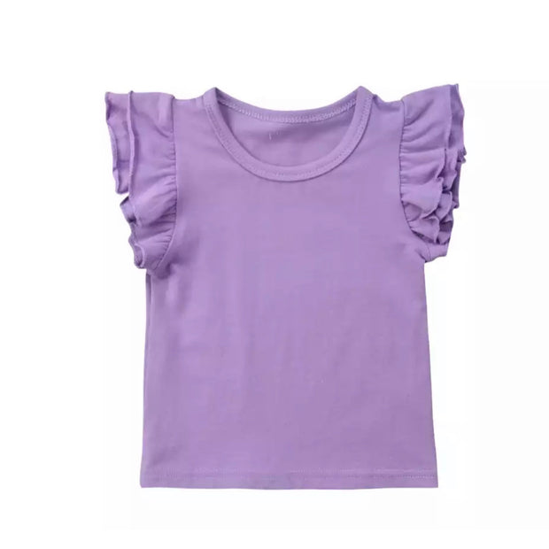 Flutter Tee- Purple