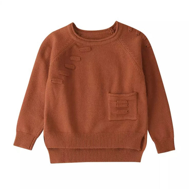 Kelso Knit Jumper - Brown