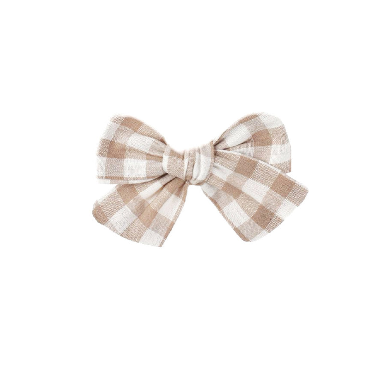 Francis Plaid Hair Bow - SEO Optimizer Test