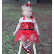 Mrs Clause Tutu Romper