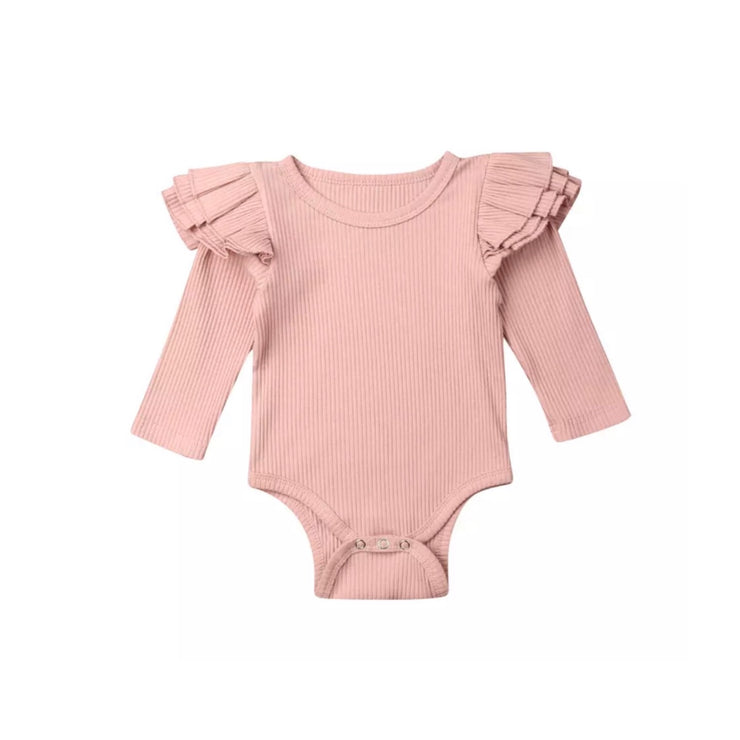 Luna Flutter Onesie - Peach - SEO Optimizer Test