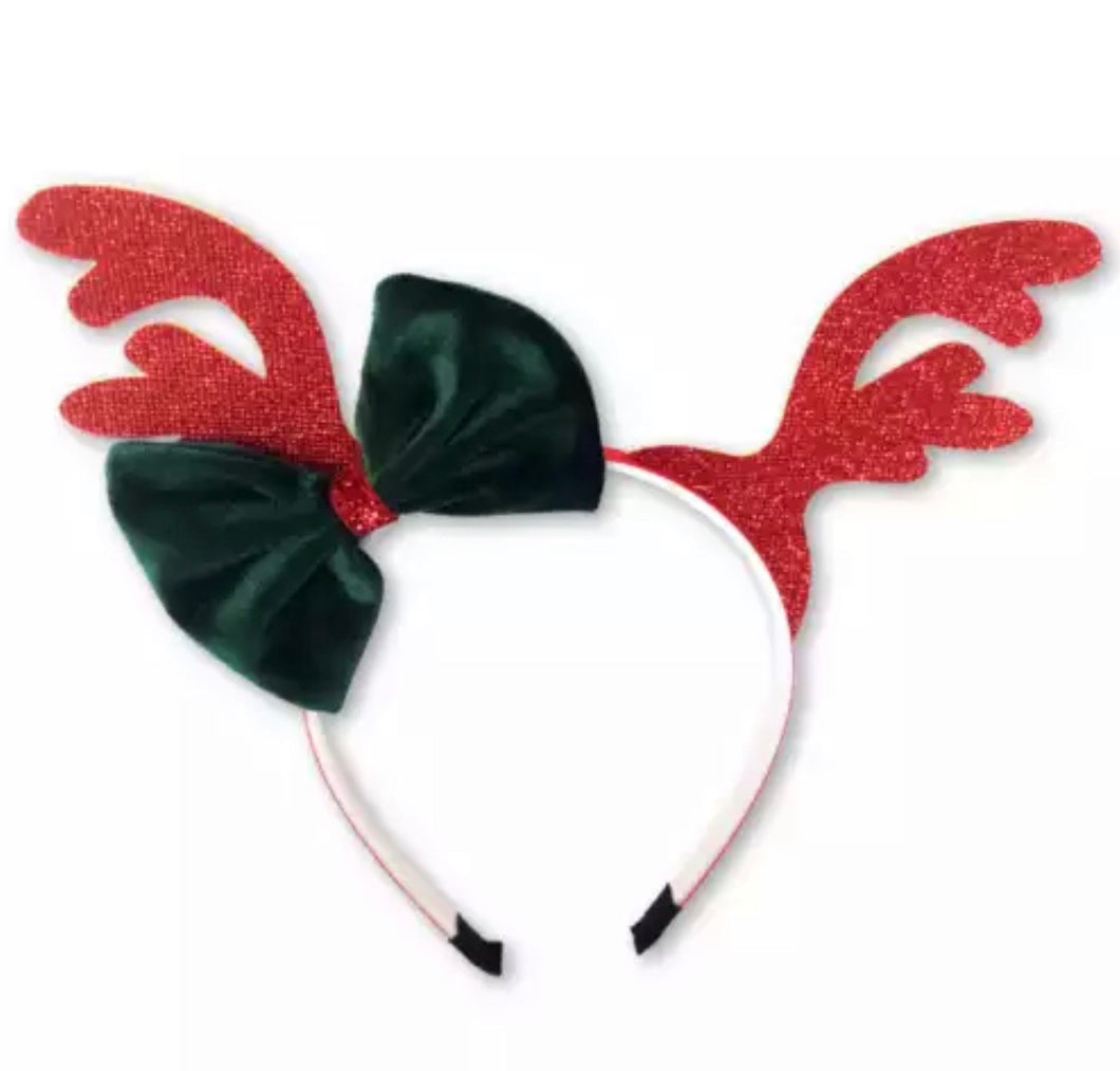Maxi Bow Christmas Headband