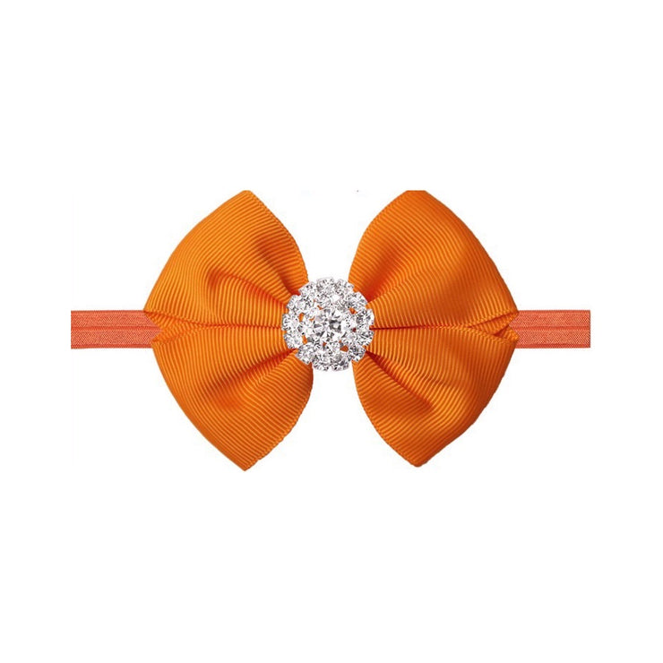 Laila Bow Headband- Orange - SEO Optimizer Test