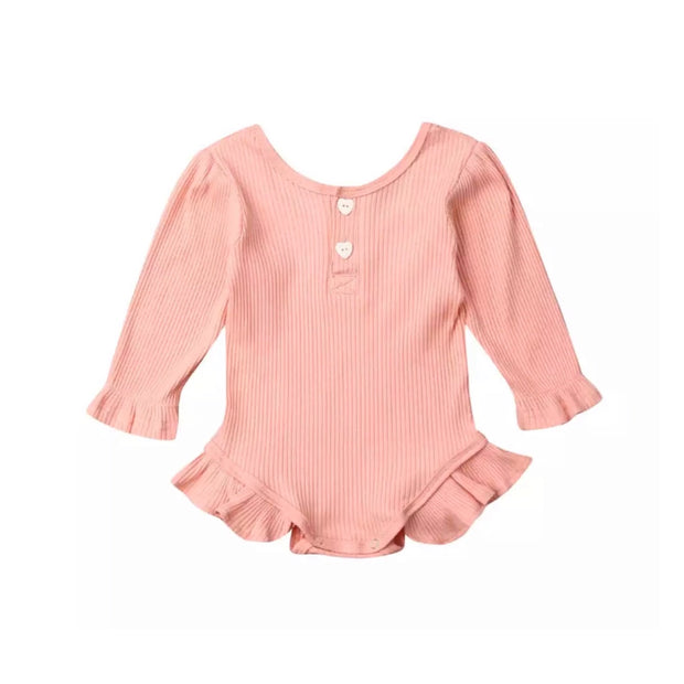 Vivian Heart Romper- Peachy Pink - SEO Optimizer Test