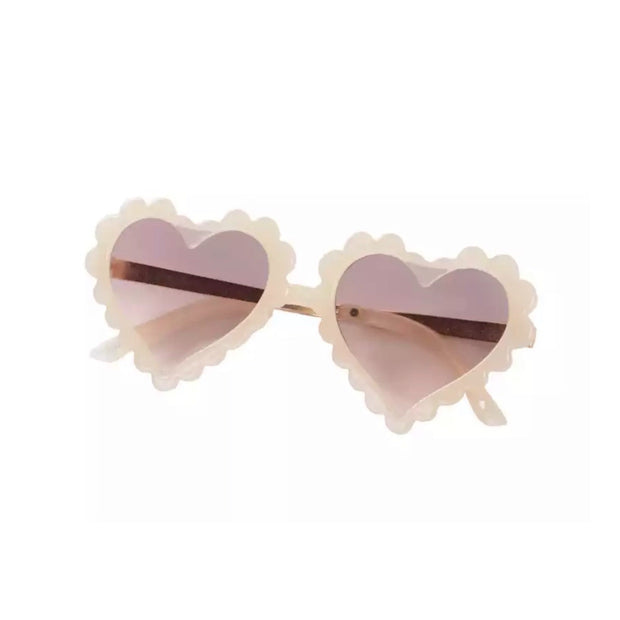 Heart of Hearts Sunnies- Creme