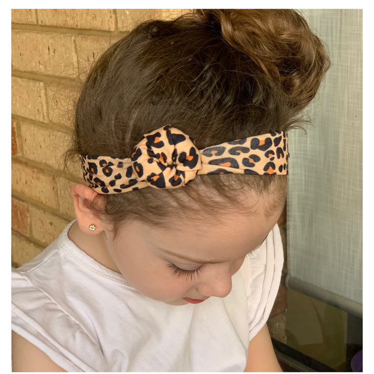 Knotted Headband- Leopard - SEO Optimizer Test