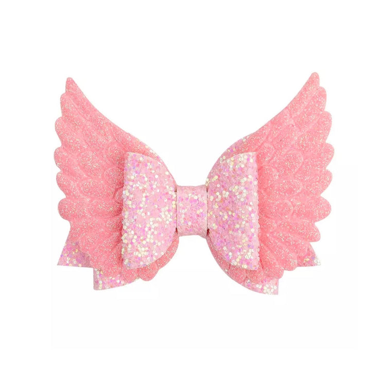 XL Wings Hair Bow-Pink - SEO Optimizer Test