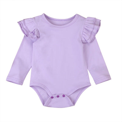 Flutter Onesie- Purple