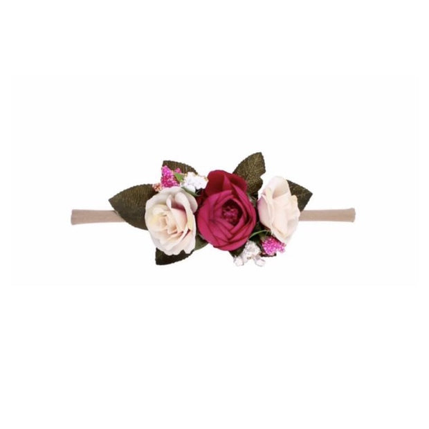 Bouquet Headband- Maroon in the middle - SEO Optimizer Test