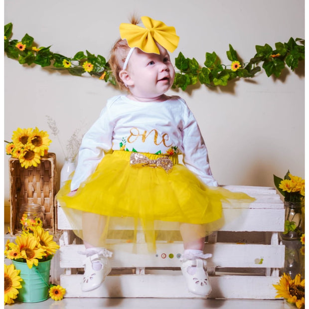 Sunflower 1st Birthday Winter Set - SEO Optimizer Test