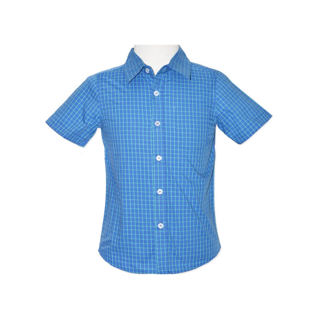 Carl Shirt- Blue Green Check - SEO Optimizer Test