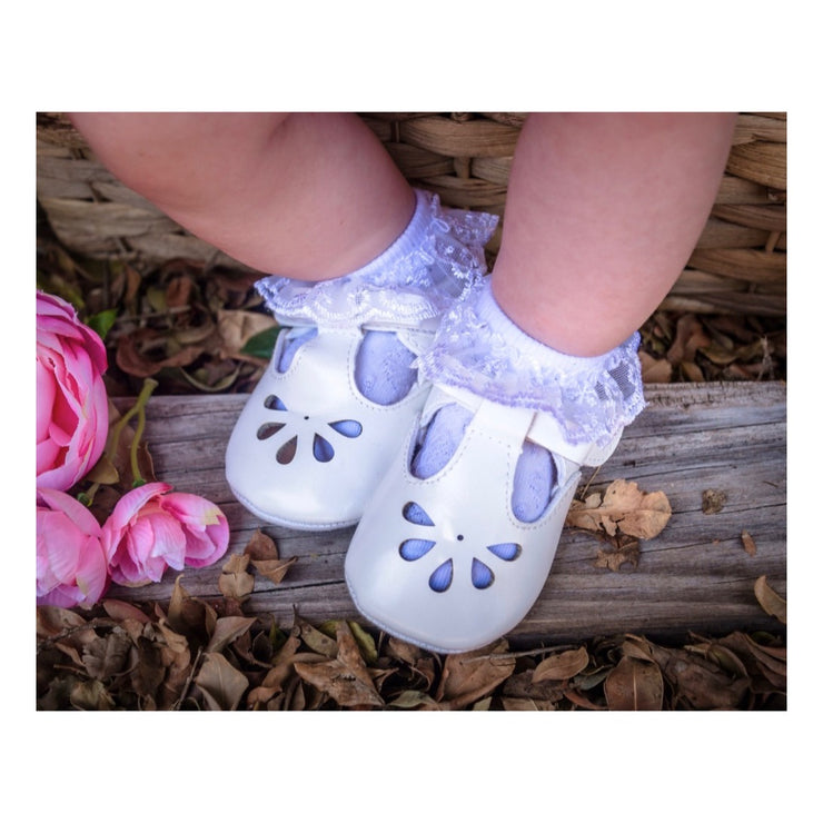 Baby Frill Socks-White - SEO Optimizer Test