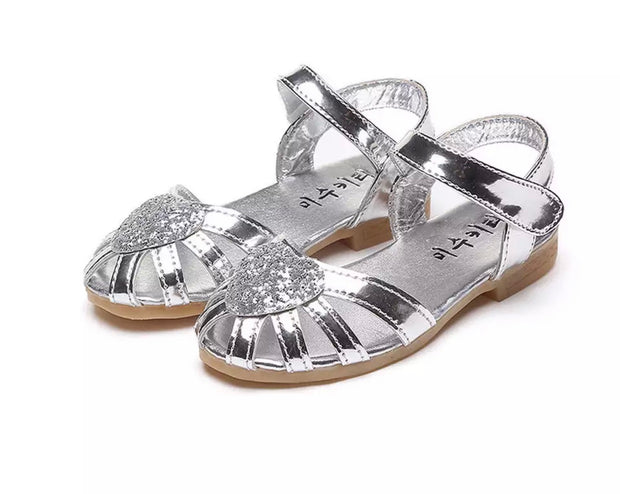 Jane Heart Sandals - Silver - SEO Optimizer Test