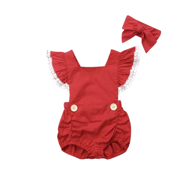 Nevaeh Romper Set