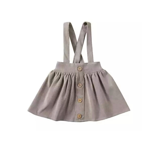 Siena Cord Skirt - Grey - SEO Optimizer Test