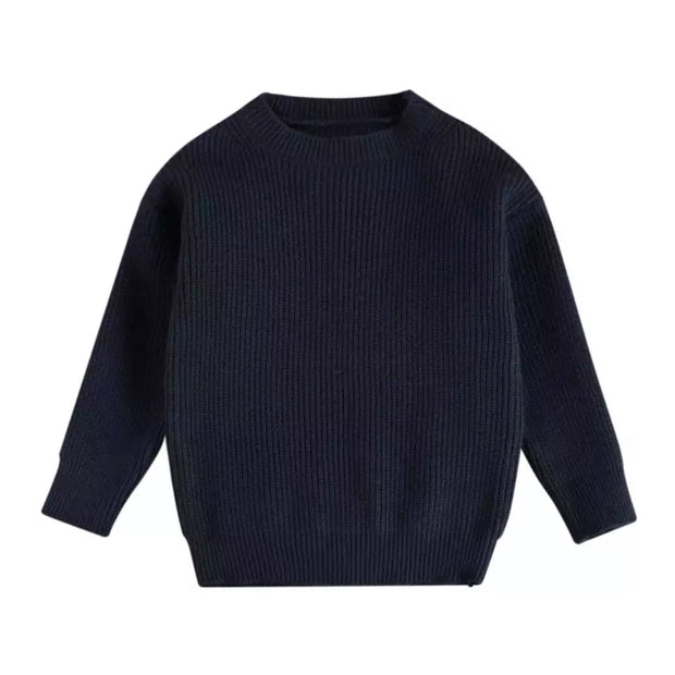 Adora Knit Jumper - Navy