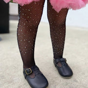 Diamond Tights-Black